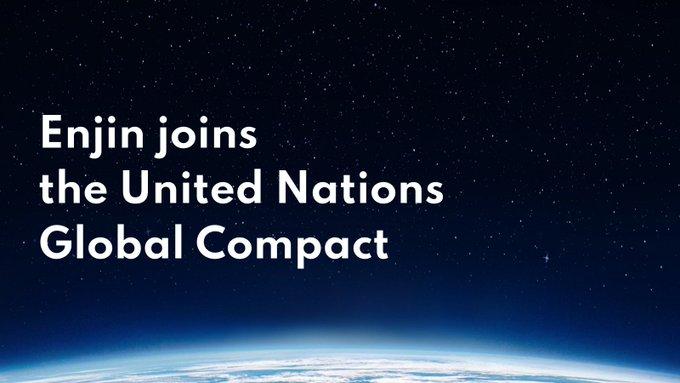 Enjin se alatura United Nations Global Compact